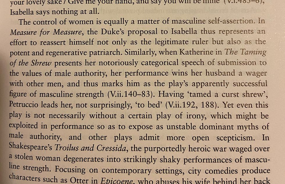 A critical analysis of Measure for Measure